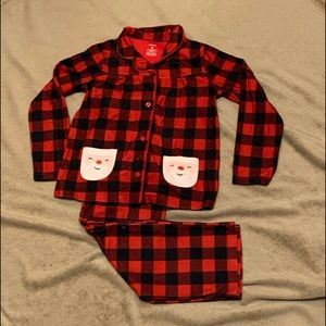Pajamas Girls Christmas. Size 8 Girls. Carters.